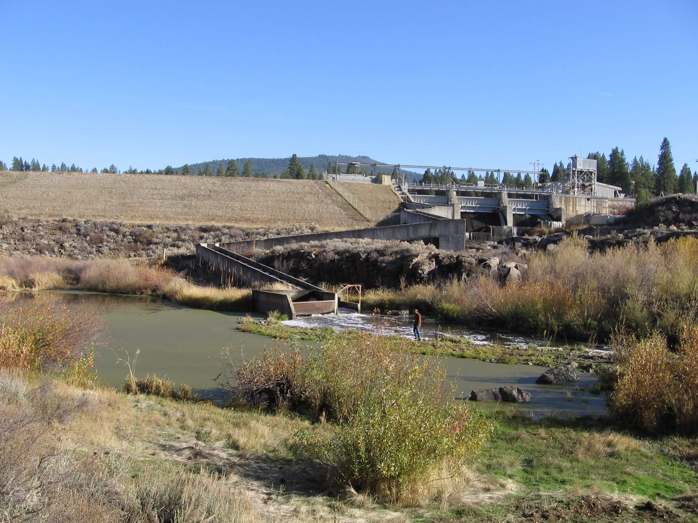 J.C. Boyle Dam by Jim McCarthy
